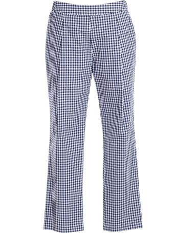 SEMICOUTURE Checked Trousers
