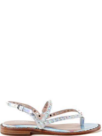 Ash Pearl Flat Sandals