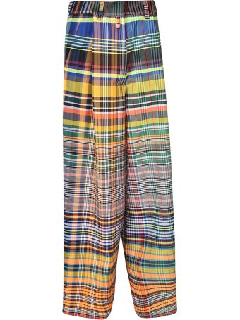 Dries Van Noten Check Trousers