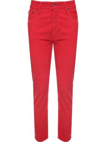 Acne Studios Melk High-rise Cotton-corduroy Jeans