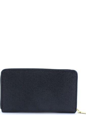 Avenue 67 Black Leather Wallet