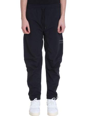 Maharishi Black Cotton Trousers