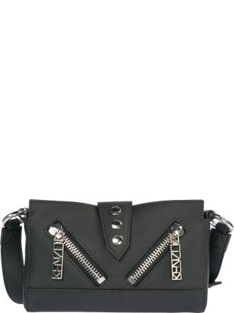Kenzo  Leather Belt Bum Bag Hip Pouch Kalifornia