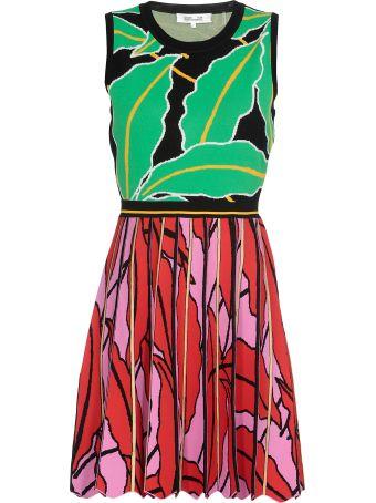 Diane Von Furstenberg Multicolor Dress