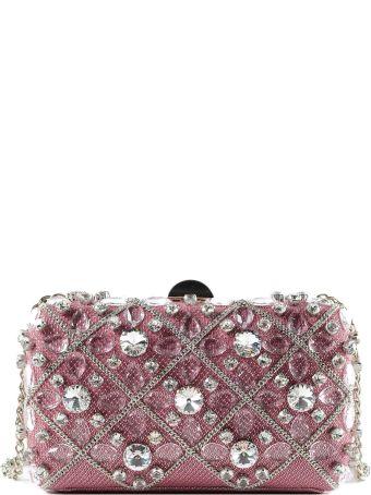 Rodo Embellished Hardshell Clutch