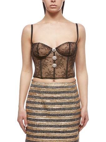 Alessandra Rich Lace Lingerie Top