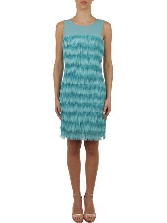 Patrizia Pepe Fringed Dress