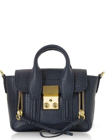 3.1 Phillip Lim Ink Leather Pashli Nano Satchel Bag