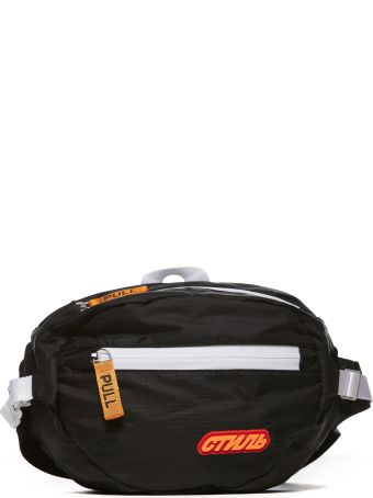 HERON PRESTON Logo Patch Belt Bag