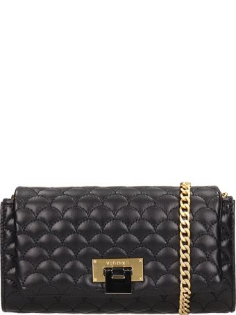 Visone Patty Black Quilted Bag