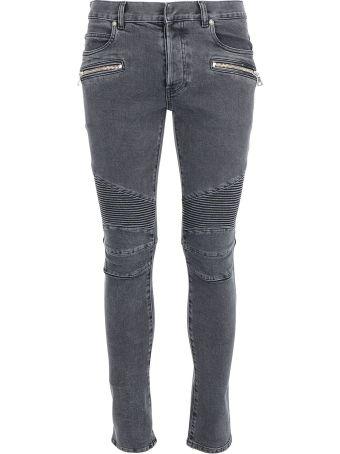 Balmain Slim Ribbed Jeans