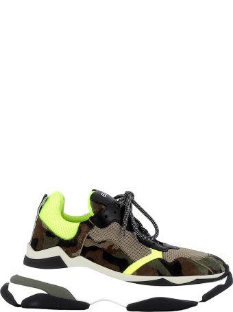 Elena Iachi Multicolor Fabric/suede Sneakers
