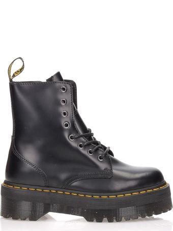 Dr. Martens Military Boots Jadon Black Polished