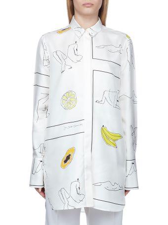 Jil Sander Printed Shirt Dress
