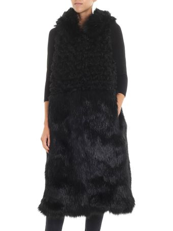 L'Autre Chose Fur Coat