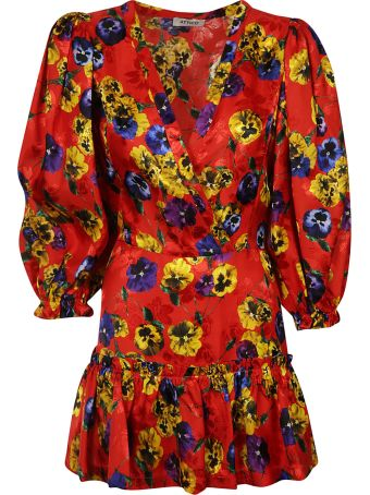 ATTICO Floral Printed Dress