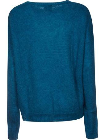 Alysi Ribbed Round Neck Sweater