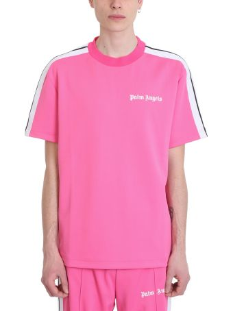 Palm Angels Pink Polyester T-shirt