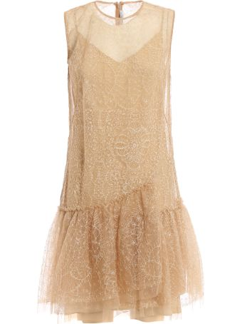 Ermanno Scervino Embroidered Mini Dress