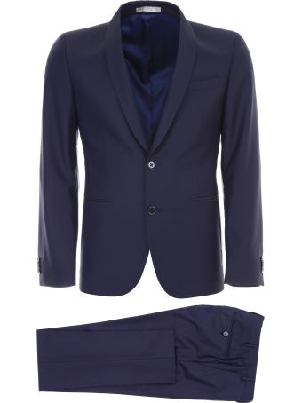 CC Collection Corneliani Virgin Wool Suit
