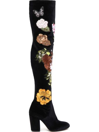 Strategia Embroidered Boots