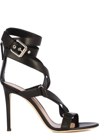 Giuseppe Zanotti Heel 105 Bracelet And Buckle On The Ankle/schiava