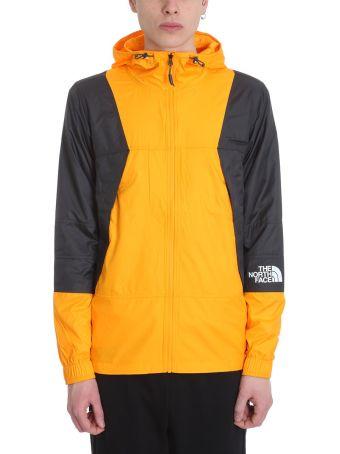 The North Face Mountain Windshell Orange Technical Fabric Jacket