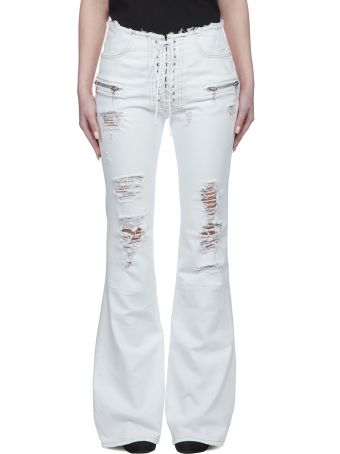 Ben Taverniti Unravel Project Distressed Flared Jeans