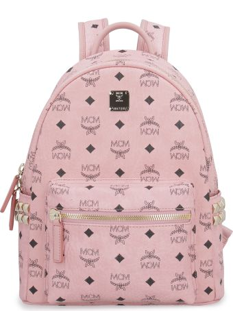 MCM Stark Visetos Backpack With Studs