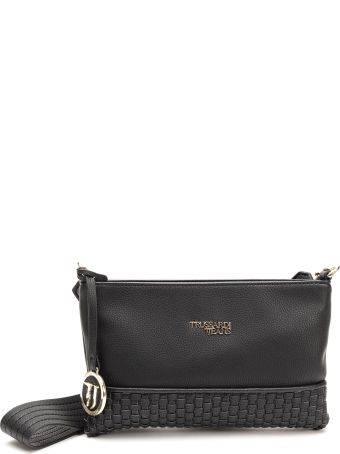 Trussardi Trussardi Mimosa Faux Leather Clutch