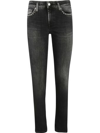 7 For All Mankind Studded Jeans