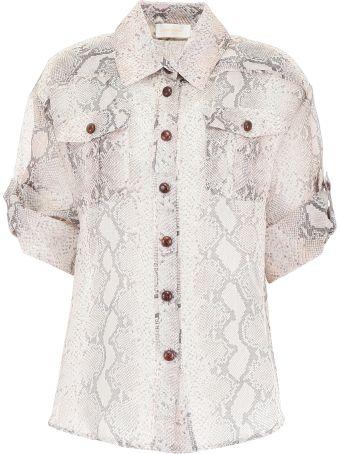 Zimmermann Corsage Safari Shirt