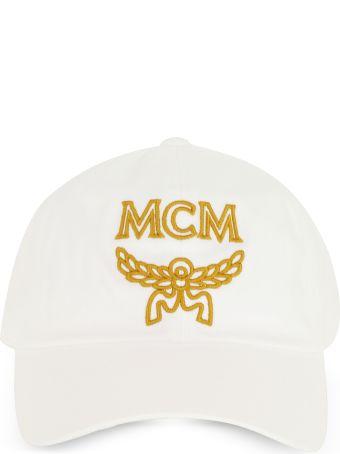 MCM Signature Cotton Baseball Cap
