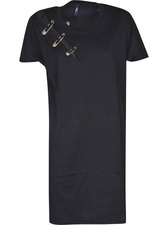 Versus Versace Safety Pin T-shirt Dress