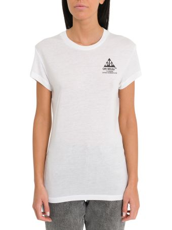 Off-White Arrows And Flowers Tee