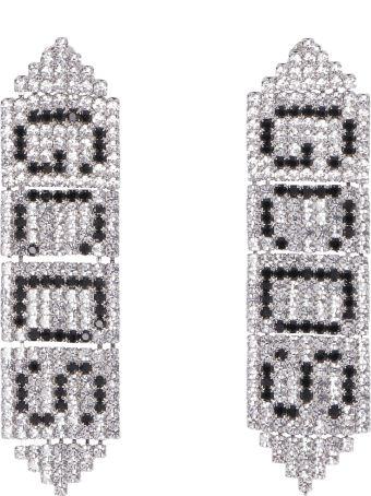 GCDS Logoed Earrings