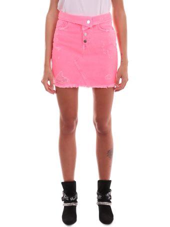 AMIRI Neon Pink Skirt