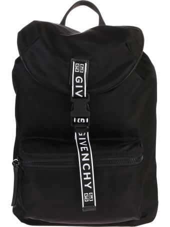 Givenchy Black Branded Backpack