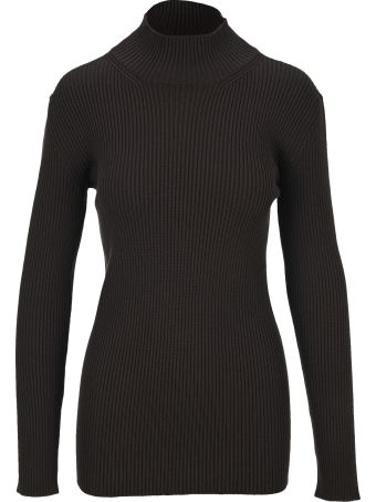 Prada Ribbed Wool Turtleneck