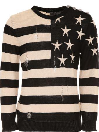 Balmain Printed Pullover