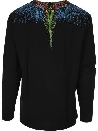 Marcelo Burlon Bezier Wings Long Sleeve T-shirt