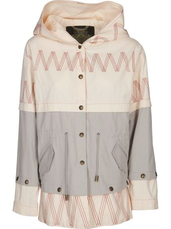 Mr & Mrs Italy Mini Embroidered Parka