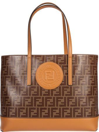 Fendi Ff Logo Shopper Bag