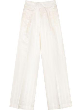 Jucca High-waist Wide-leg Trousers