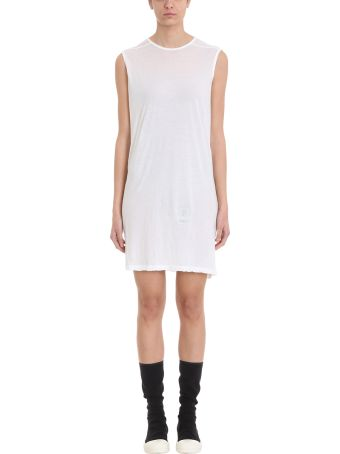 DRKSHDW White Tunic Dress