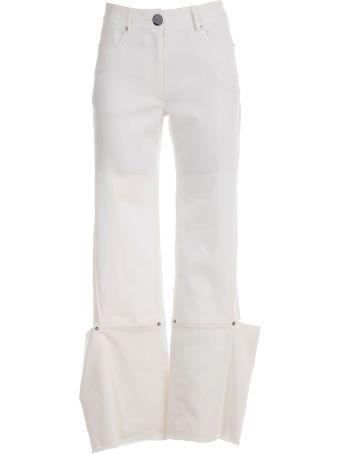 Eudon Choi Cuff Detail Trousers