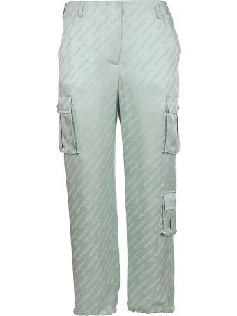 Off-White Logo Straight-leg Cargo Trousers