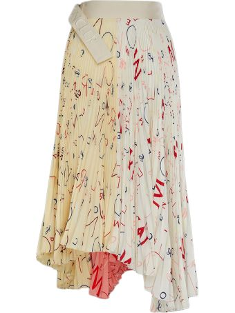 Moncler Genius Printed Skirt