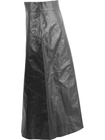Isabel Marant Black Maxi Skirt