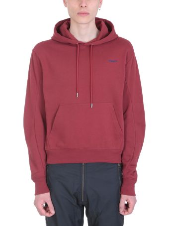 GMBH Red Cotton Hoodie